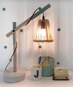 diy pakket lamp verlichting beton hout accessoires interieur