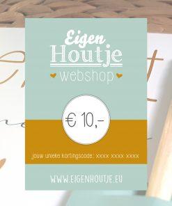 eigenhoutje creatieve workshops limburg DIY pakketten cadeaubon