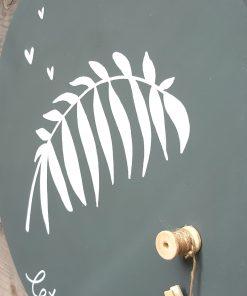 diy pakket wand muur decoratie hout touw interieur