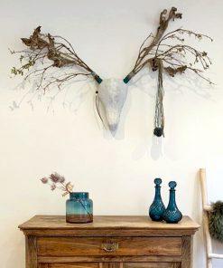 DIY Pakket Hertenkop wand decoratie muur interieur takken hert dier