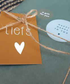 eigenhoutje creatieve workshops limburg DIY pakketten kaart liefs