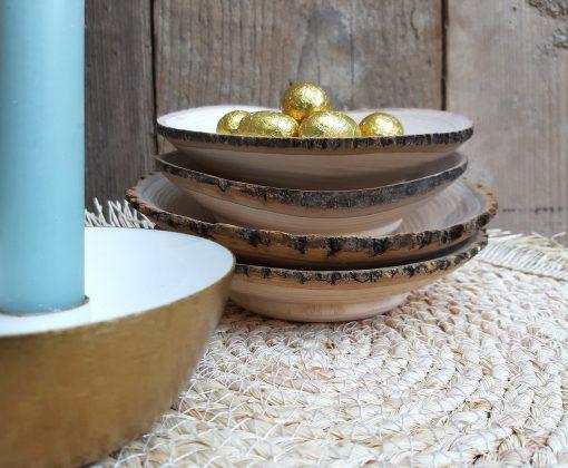 eigenhoutje interieur decoratie hout schaaltje accessoires