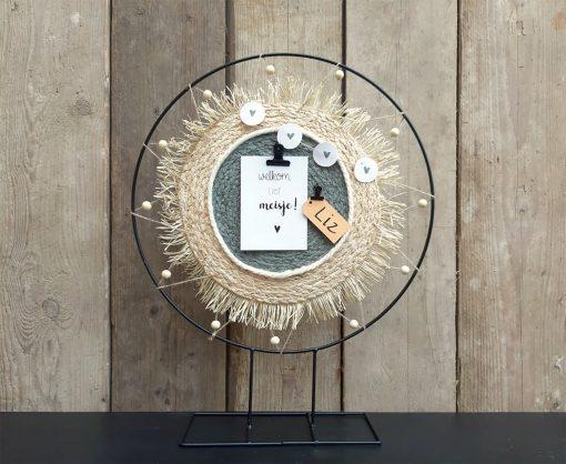 DIY pakket Decoratie ring interieur geboorte