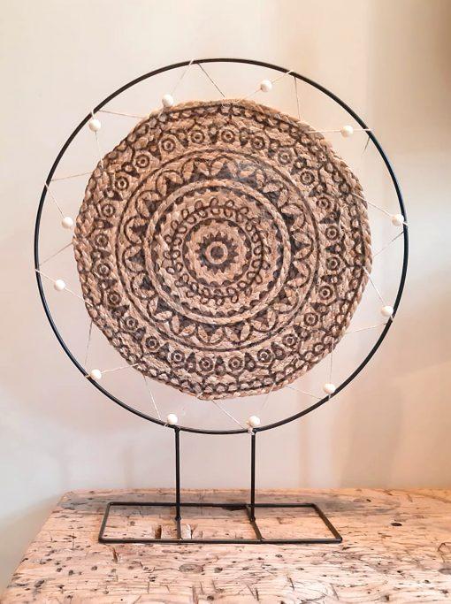 diy pakket staande decoratie ring mandala