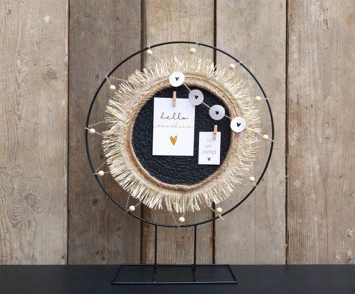 diy pakket staande decoratie ring interieur zomer